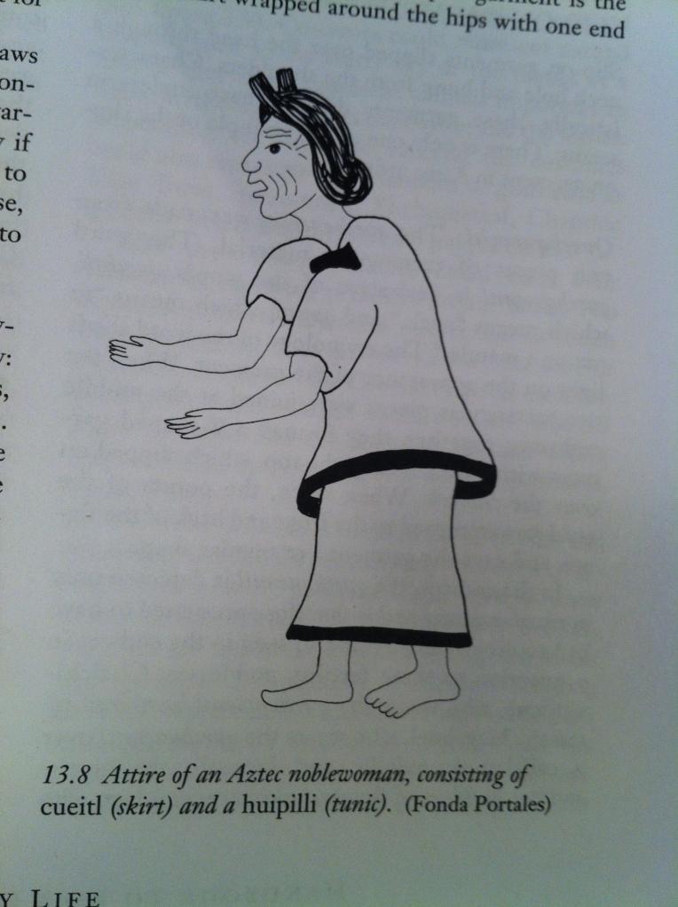 Aztec noblewoman