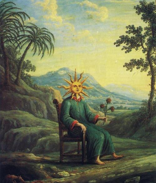 the alchemist who had achieved illunination:from andrea de pascalis' %22alchemy%22 copy