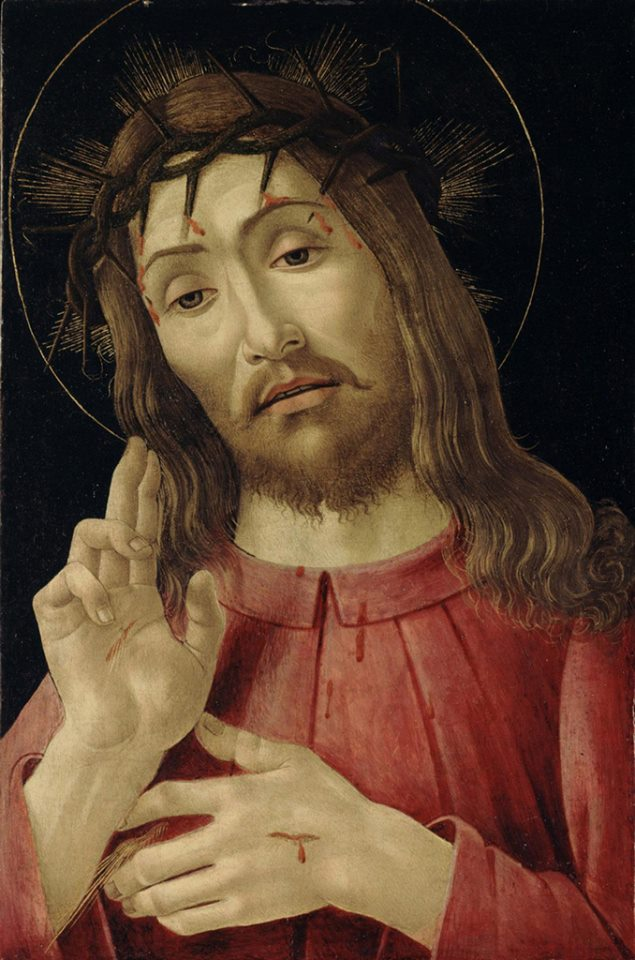 botticelli:cristo risorto:1480:detroit copy