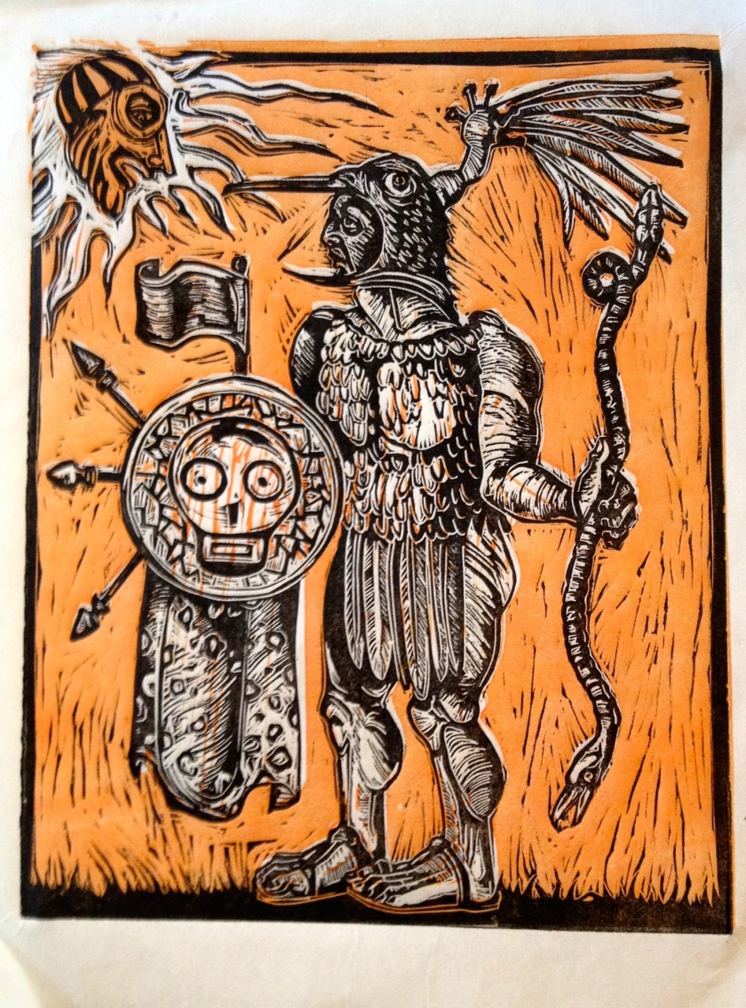 The Great War God, Huitzilopochtli