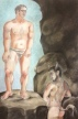 The Approach of Theseus, 2012, pastel on paper, 12 by 18""
