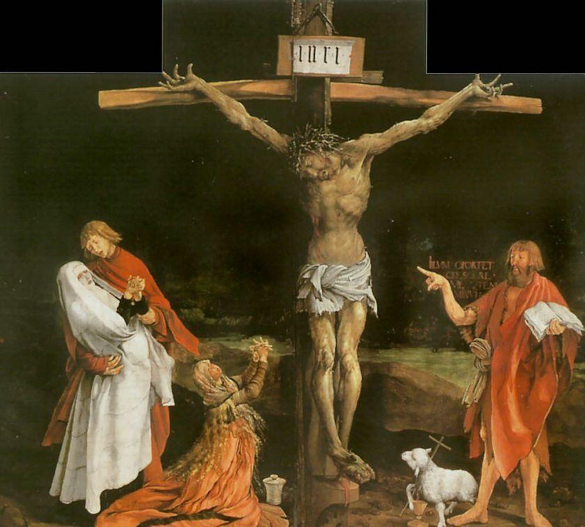 68_grunewald_crucifixion