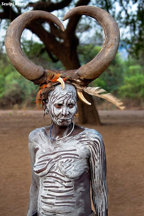 ethiopia,mursi woman copy